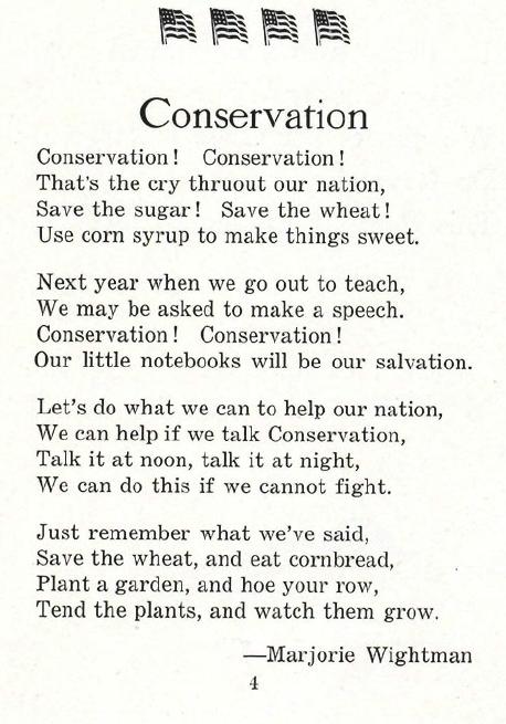 1918 Gitche Gumee - conservation poem