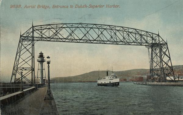 aerial bridge 1913 WHS